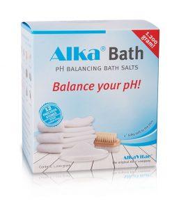 Алкализирване на тялото соли за вана Alka®Bath – 1200g