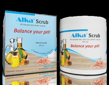 Пилинг За Тяло с pH балансираща комбинация от соли и масла Alka® Scrub