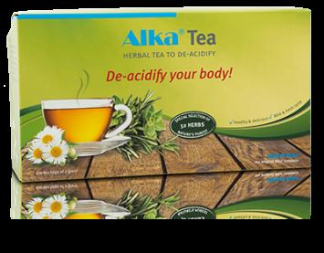 Alka ® Tea съдържа целия спектър от елементи, които осигуряват оптимално изчистване на организма от натрупаните киселинни отпадъци.