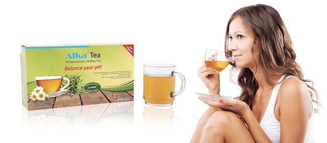 чай за ph баланс, алкализиращ чай