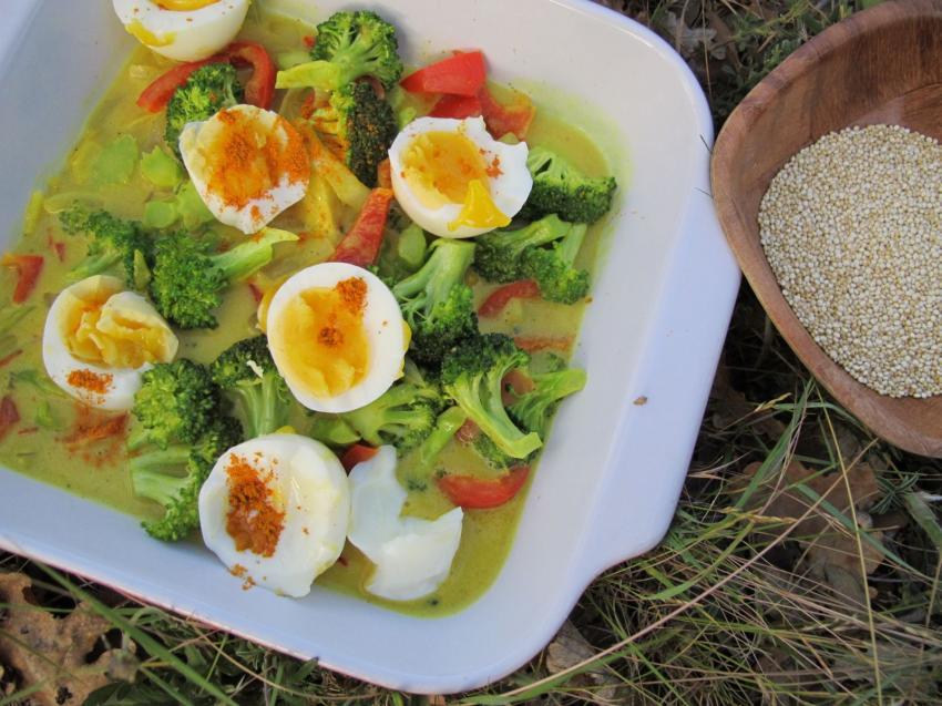 Супер бързо къри с броколи | Alka®