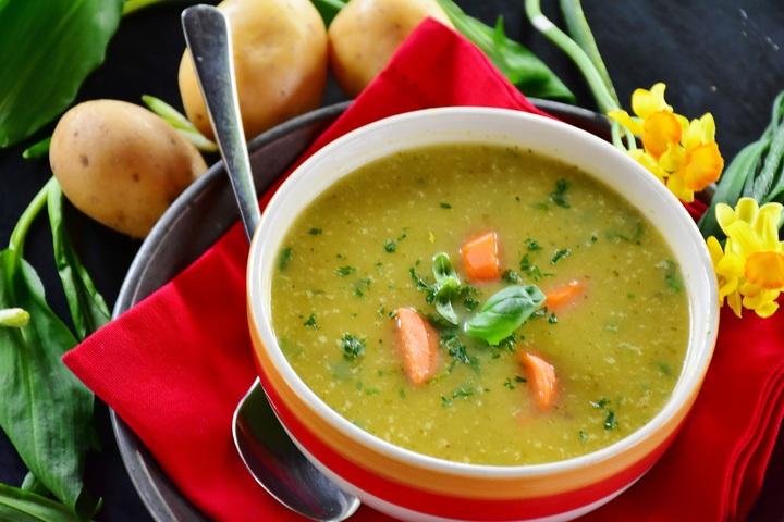 Алкална супа в превенция на киселинноста