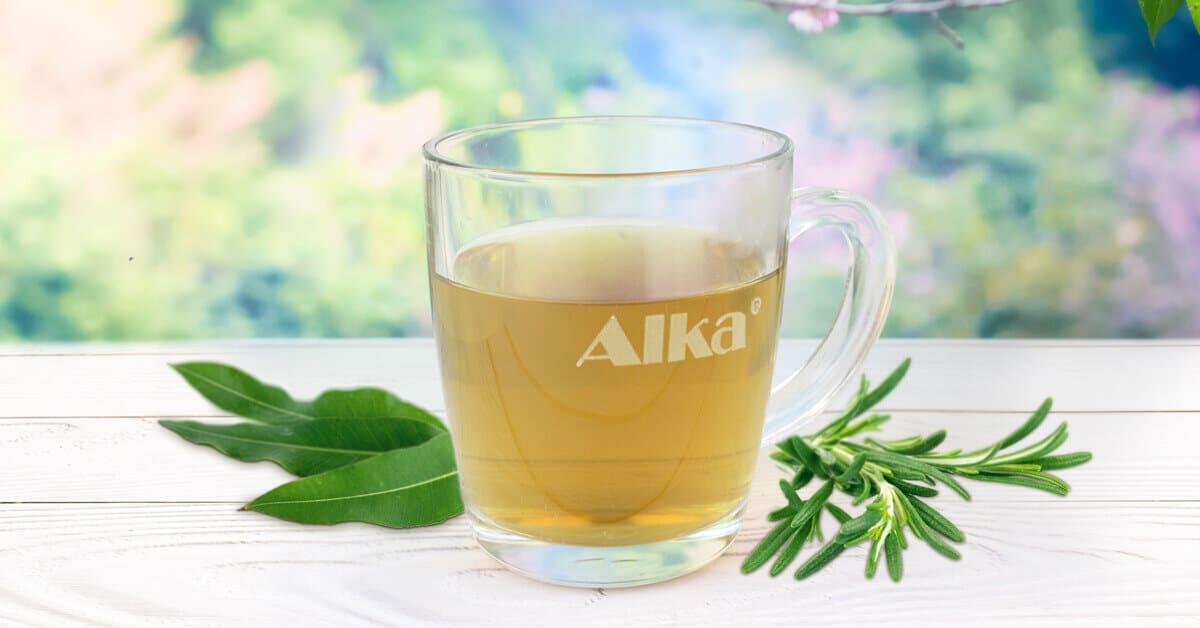 чай за активна алкализация на тялото с 52 билки