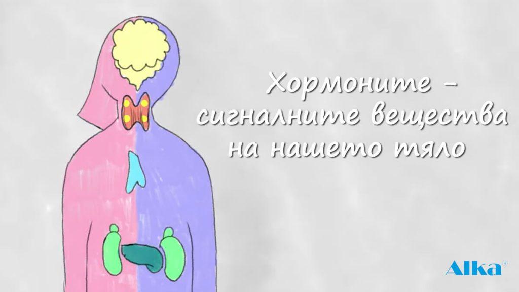 хормоните сигналните вещества на нашето тяло